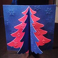 Дизайн новогодней открытки компании — Fogeron