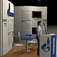 Дизайн выставочного стенда — Газпромтранс