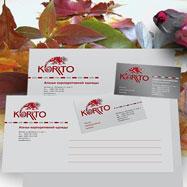 Дизайн логотипа, визитки, фирменной документации — Korrto