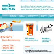 Разработка сайта — Norman