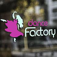 Дизайн логотипа — DanceFactory