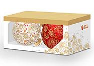 Дизайн елочного шара и упаковки
